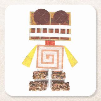 Chocolate Robot Custom Made Coaster