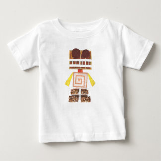 Chocolate Robot Infant Top