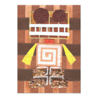 Chocolate Robot Invitations