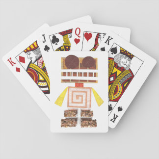 Chocolate Robot Playing Cards