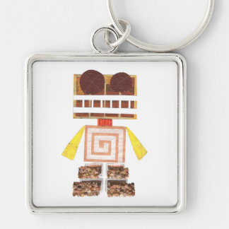 Chocolate Robot Premium Keyring
