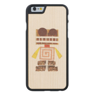 Chocolate Robot Wooden I-Phone 6 Case