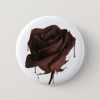 Chocolate Rose Button