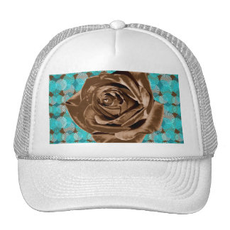 """Chocolate Rose"" pattern collection Cap"
