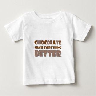 Chocolate Saying Baby T-Shirt