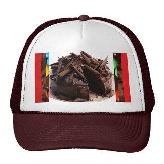 Chocolate Shavings Cake Cap