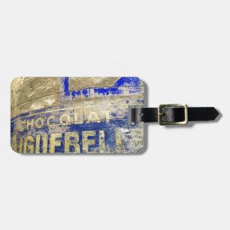 Chocolate Sign Bag Tag