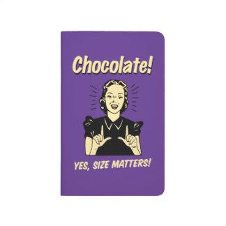 Chocolate: Size Matters Journal