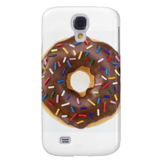 Chocolate Sprinkle Doughnut Samsung Galaxy S4 Cover
