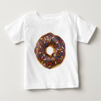 Chocolate Sprinkles Doughnut Baby T-Shirt