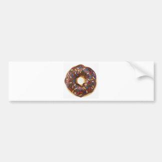 Chocolate Sprinkles Doughnut Bumper Sticker