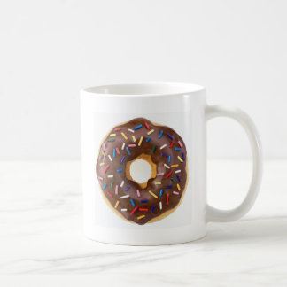 Chocolate Sprinkles Doughnut Coffee Mug