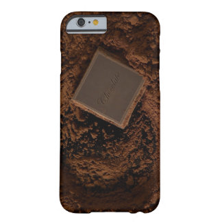 Chocolate Square in Chocolate Powder Barely There iPhone 6 Case