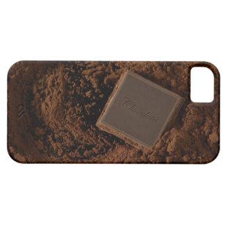 Chocolate Square in Chocolate Powder iPhone 5 Case