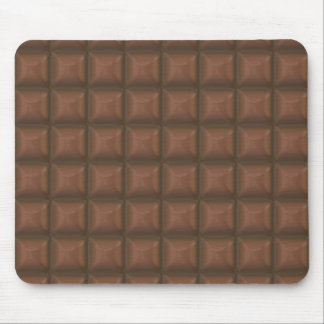 chocolate squares mouse pad