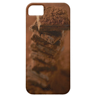 Chocolate squares stack barely there iPhone 5 case