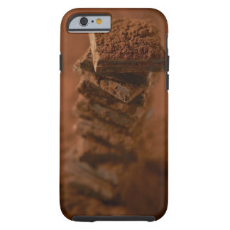 Chocolate squares stack tough iPhone 6 case