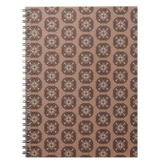 Chocolate Star Notebook