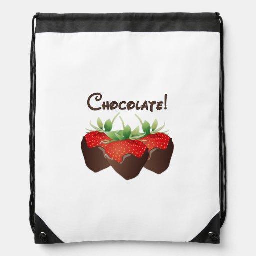 Chocolate Strawberries Backpack