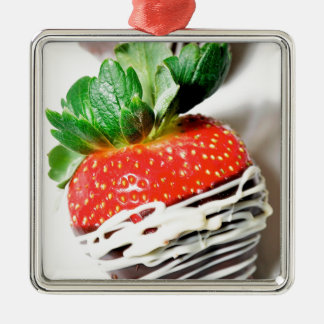 Chocolate strawberry! christmas ornament