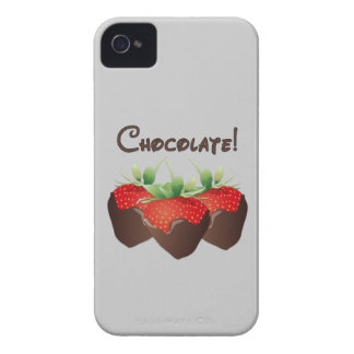 Chocolate Strawberry iPhone 4 Covers