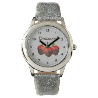 Chocolate Strawberry Love Watch
