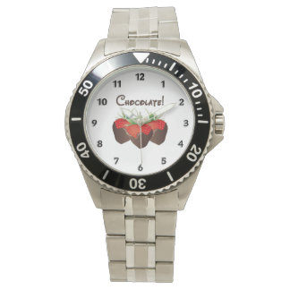 Chocolate Strawberry Love Watch