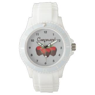 Chocolate Strawberry Love Wrist Watch
