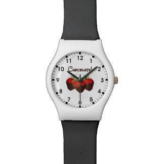 Chocolate Strawberry Love Wrist Watches
