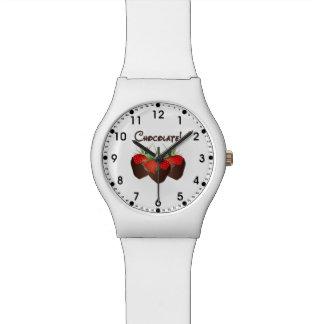 Chocolate Strawberry Love Wristwatch