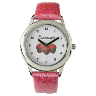 Chocolate Strawberry Love Wristwatch