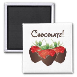 Chocolate Strawberry Fridge Magnet