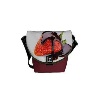 Chocolate Strawberry Messenger Bags