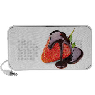 Chocolate Strawberry Mp3 Speakers