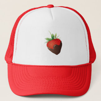 Chocolate Strawberry Trucker Hat