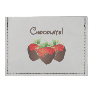Chocolate Strawberry Tyvek® Card Case Wallet