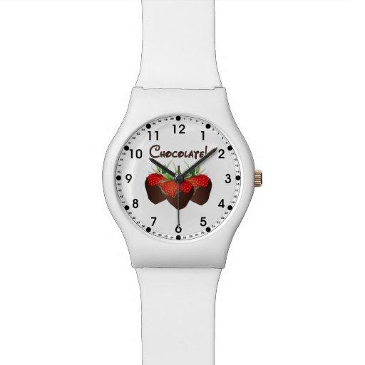 Chocolate Strawberry Watches