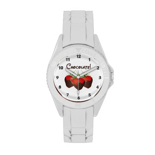 Chocolate Strawberry Wrist Watches