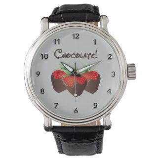 Chocolate Strawberry Watches