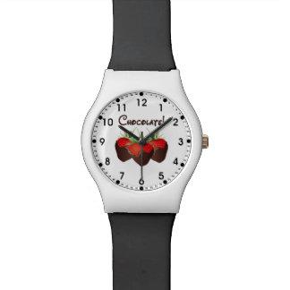 Chocolate Strawberry Wrist Watch