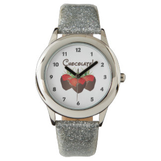 Chocolate Strawberry Wristwatch