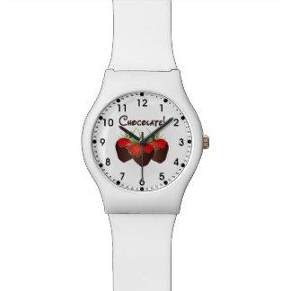 Chocolate Strawberry Wristwatches