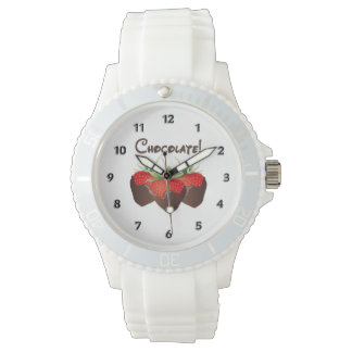 Chocolate Strawberry Wristwatches