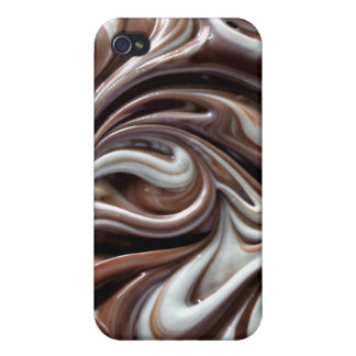 chocolate swirl iphone4 case iPhone 4/4S cover