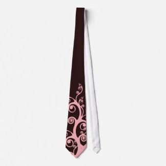 Chocolate Swirls Tie