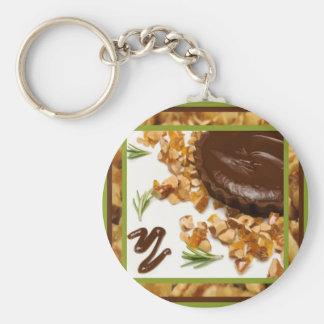 Chocolate Tart Keychain