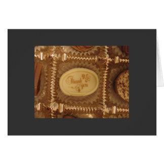 Chocolate Thank You Card