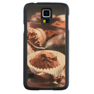 Chocolate truffles carved maple galaxy s5 case