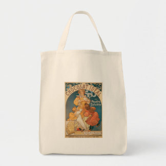 Chocolate ~ Vintage Hot Chocolate Drink Ad Tote Bag