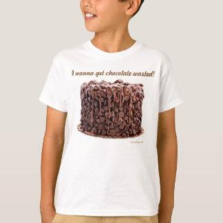 Chocolate Wasted Cake Youth shirt